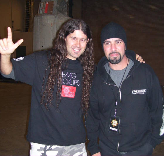 Tony Rombola guitar player of Godsmack