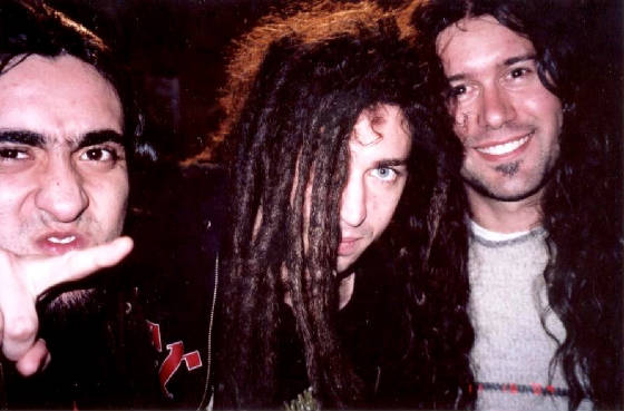 Singer of Shadows Fall.  11/16/04